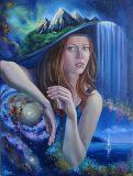Surrealistic painting «Ohm»
