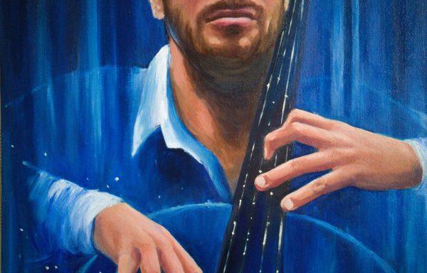 Portrait of a musician 'Sublimation'