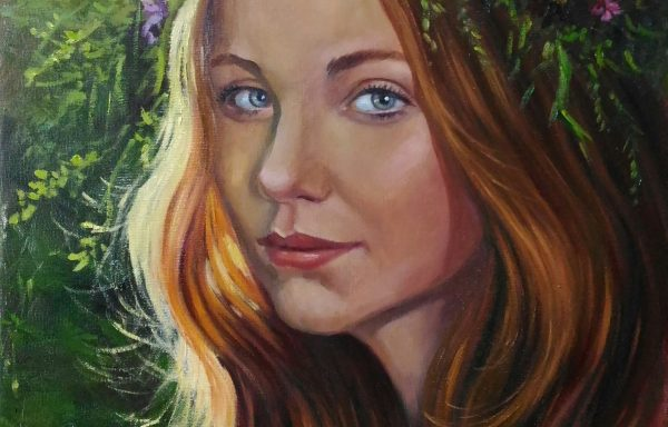 Portrait of young woman»Eva»