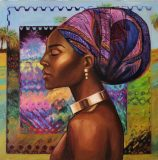 Oil painting  «Gold of Africa No. 2»