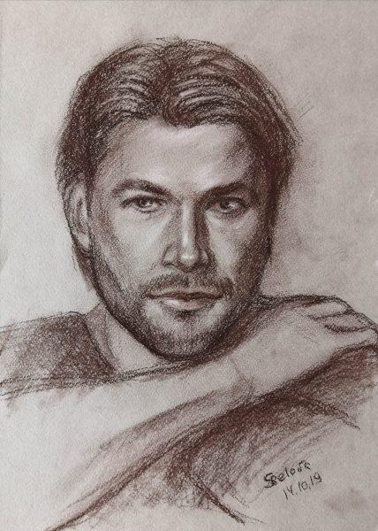 Graphic Portrait Chris Hemsworth