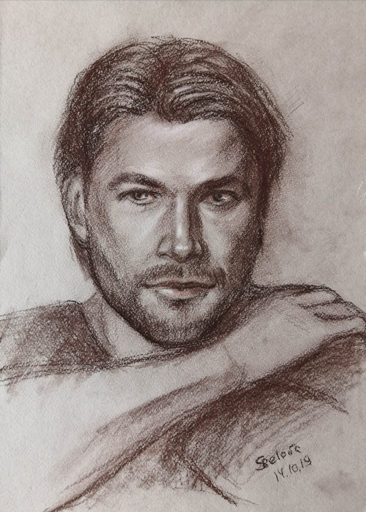 Graphic Portrait Chris Hemsworth