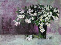 Interior painting with jasmine